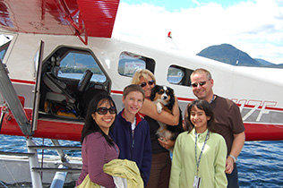 Island Wings flightseeing in Ketchikan.